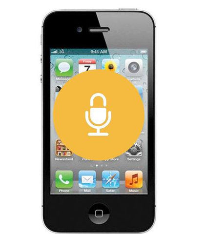 iPhone 4 <br/>Microphone Repair - Cary Grove Computer Repair