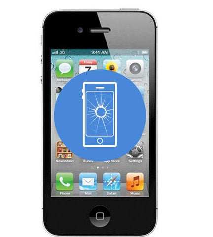 iPhone 4 <br/>Screen Replacement - Cary Grove Computer Repair