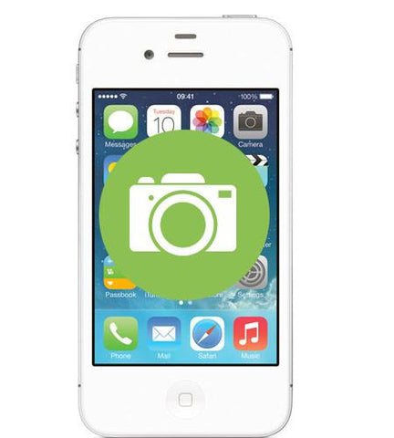iPhone 4s <br/>Camera Repair - Cary Grove Computer Repair