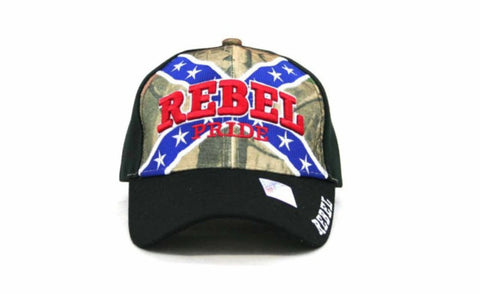 A3D Rebel Pride hat confederate flag