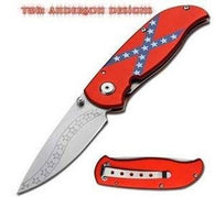 A Tom Anderson Dixie Folder confederate pocket knife