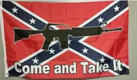 """Come And Take It"" Confederate truck Flag"
