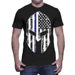 Spartan Thin Blue Line