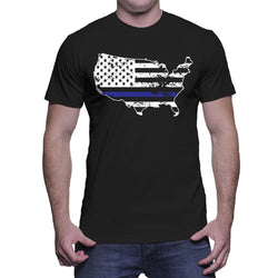 USA Thin Blue line Police support