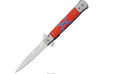 A Tac-Force Rebel Stiletto Spring Assist Knife confederate