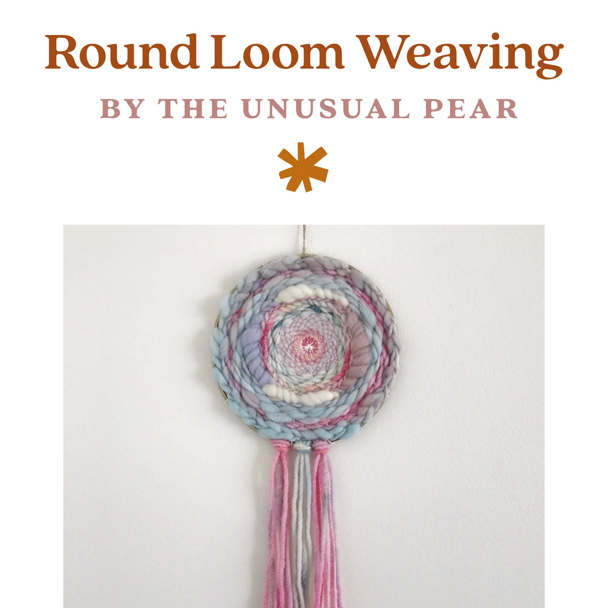 Round Loom Weaving