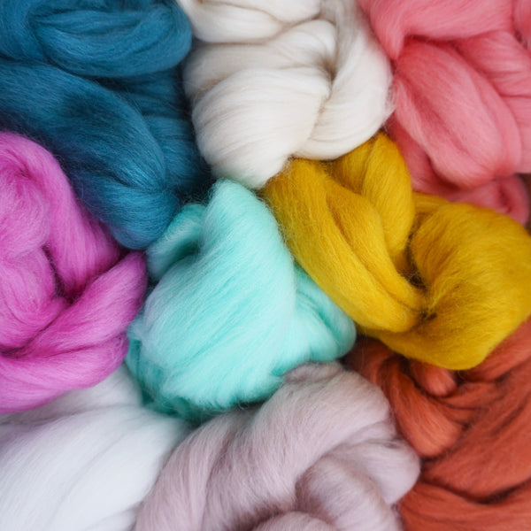 Custom Merino Roving Bundle