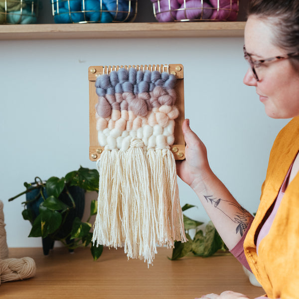 Mini Weaving Workshops at the Stitches and Craft Show