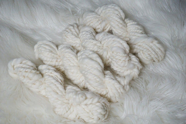 Hand Spun Yarn - Pure