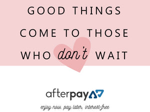 AfterPay is Available Now