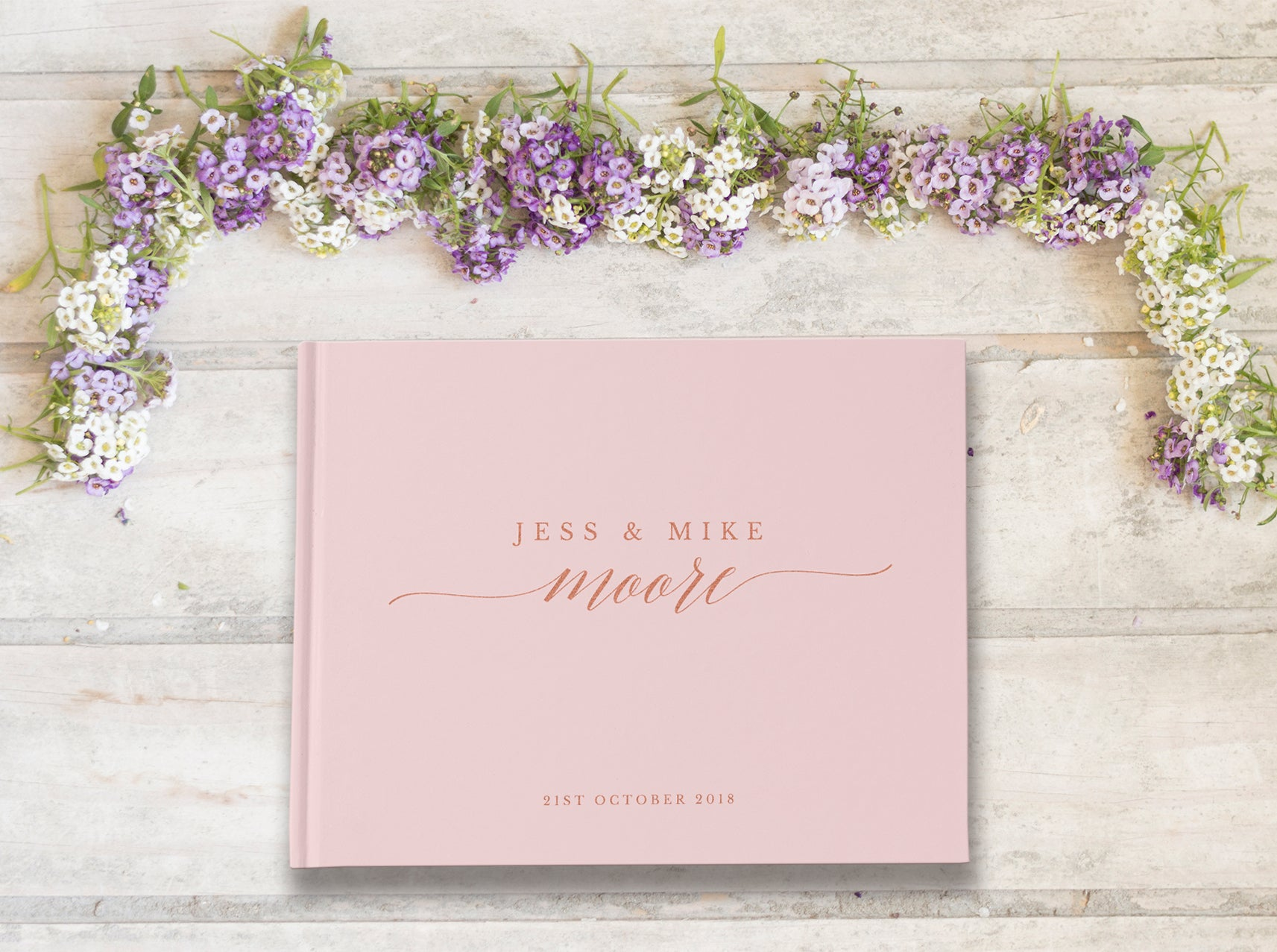 "Introducing ""Adele"" Wedding Guest Book"