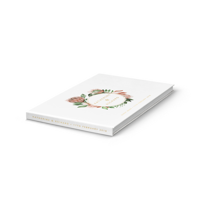 Protea | Wedding Guest Book