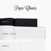 Noteworthy | Black Wedding Guest Book