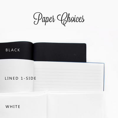 Modern Love | Black and White Wedding Guest Book