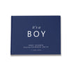 It's a Boy | Navy & White Baby Shower Guest Book