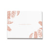 Palm Leaves | Rose Gold Wedding Guest Book