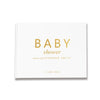 Classic Baby Shower | White & Gold Baby Shower Guest Book