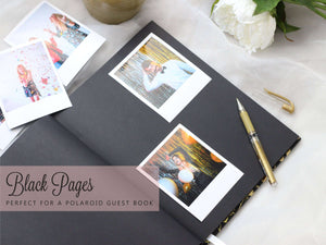Marsala Wedding Guest Book