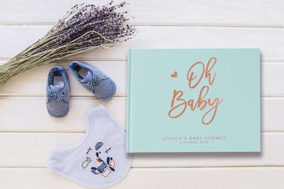 Oh Baby | Pastel Blue & Rose