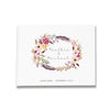 Bohemian Wreath | Wedding Guest Book