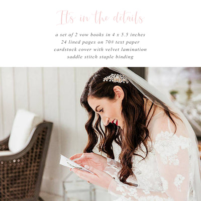 Tropical Vow Books | His & Hers