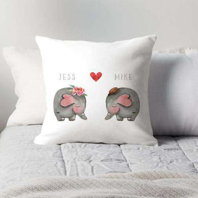 Elephant Couple-Paper Bound Love