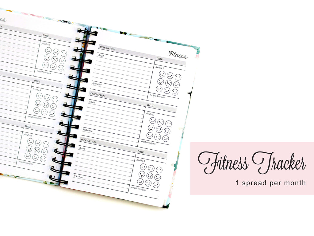 Peony Planner Book