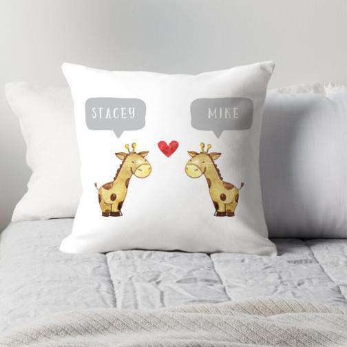 Giraffe Couple-Paper Bound Love