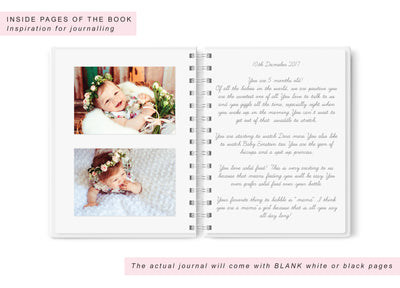 Baby's First Year | Blush Baby Scrapbook