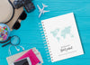 World Map | Travel Journal Scrapbook