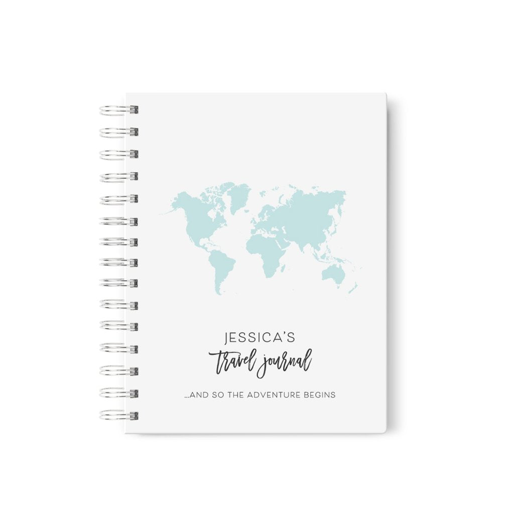 World Map | Personalized Travel Journal