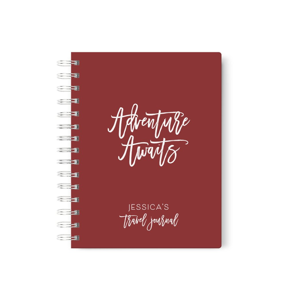 Adventure Awaits | Personalized Travel Journal