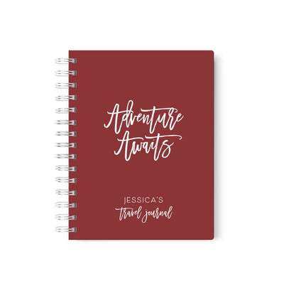Adventure Awaits | Travel Journal Scrapbook