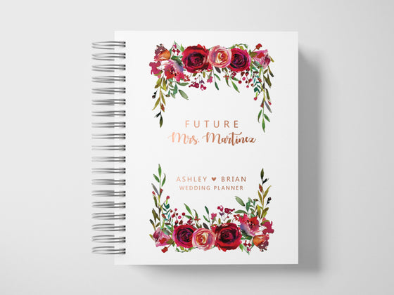 Future Mrs Wedding Planner | Maroon