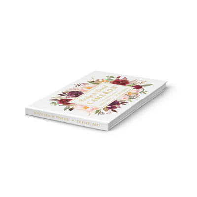 Marsala | Wedding Guest Book