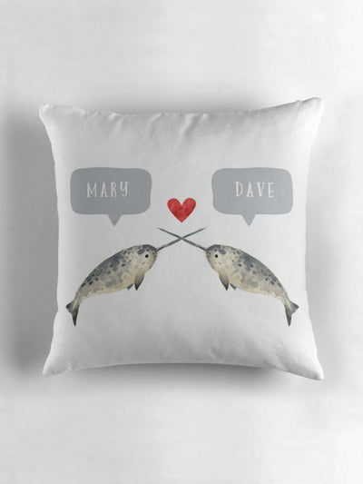 Narwhal Couple-Paper Bound Love