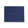 Jenna | Navy and Gold Wedding Guest Book