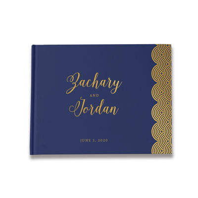 Art Deco | Navy & Gold