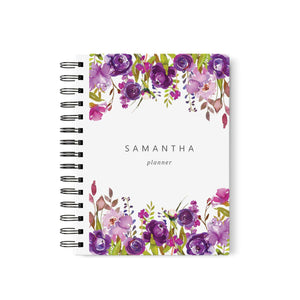Purple Planner Book
