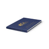 Mountains | Navy & Gold Wedding Guest Book