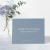 Dusty Blue Cottage Guest Book