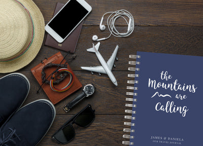 Mountains are Calling | Travel Journal Scrapbook