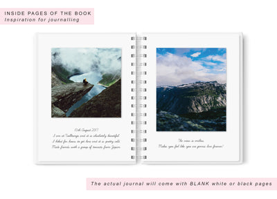 Globe | Travel Journal Scrapbook