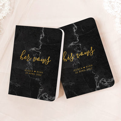 Marble Vow Books | Black