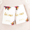 Tropical Floral Vow Books