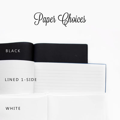 Cassia | Black and White Wedding Guest Book