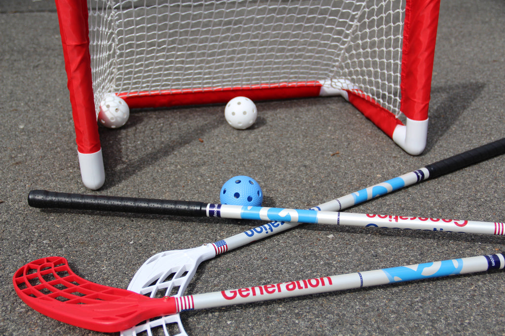 Driveway Package - 3 Sticks and Floorballs