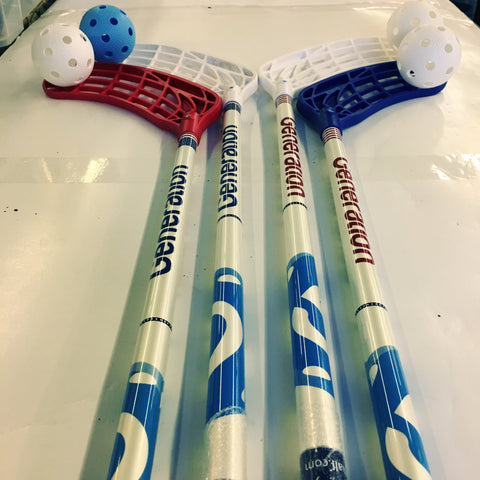 2on2 - 4 Sticks and Floorballs