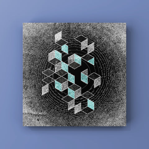 Canvas Print - Cubes Void by Darren Ryan