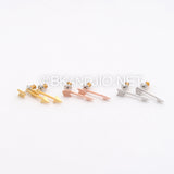 Thin Arrow Ear Jackets
